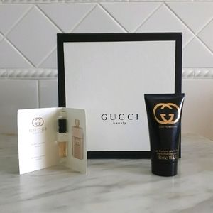 Gucci Guilty Lotion and Perfume